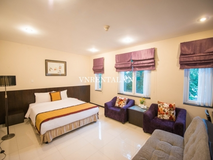Cozy serviced apartment for rent in District 7