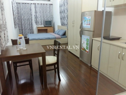 Nice serviced studio for rent in Ben Thanh, District 1, Ho Chi Minh City