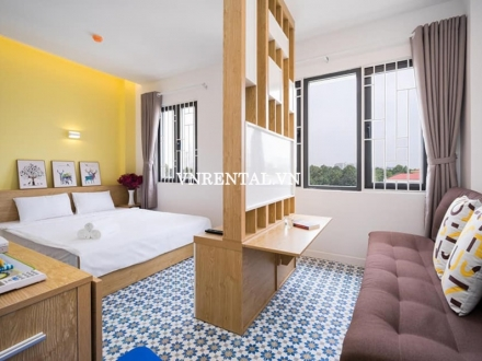 New nice serviced apartment for rent on Ho Van Hue Street, Phu Nhuan District, Ho Chi Minh City