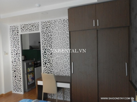 Nice serviced apartment for rent on Nguyen Dinh Chieu street, District 1