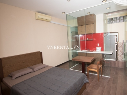 Nice and cheap serviced apartment for rent in District 3, Ho Chi Minh City