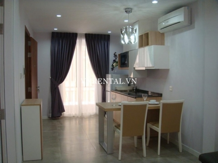 Beautiful 1 bedroom serviced apartment for rent on Tran Quoc Thao street, District 3, HCM City