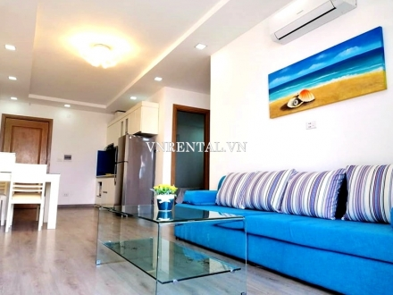 High floor Muong Thanh apartment for rent in Da Nang city, Vietnam