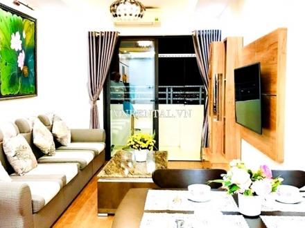 Sea view apartment for rent in Muong Thanh Luxury Apartments, Da Nang city