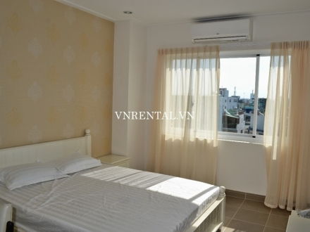 Modern and beautiful serviced apartment for rent on Vo Truong Toan street, Binh Thanh District, HCM City