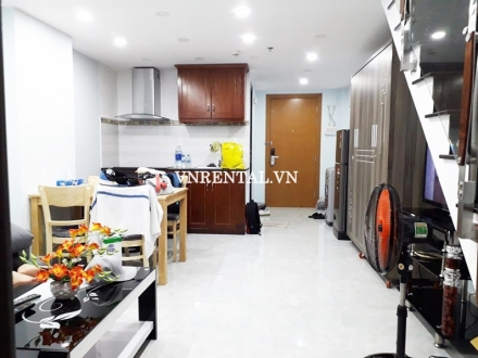 Elegant duplex apartment for rent in The EverRich Infinity district 5, HCMC