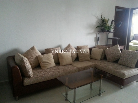 Furnished 2 bedroom apartment for rent in Central Garden building, District 1, HCMC