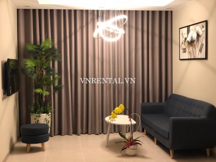 Beautiful 2 bedroom apartment for rent in The Goldview, District 4, Ho Chi Minh City