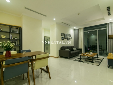 Beautiful city view apartment for rent in Vinhomes Central Park, Binh Thanh District, HCMC