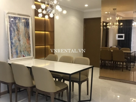 New nice modern apartment for rent in Vinhomes Central Park, Binh Thanh District, HCMC