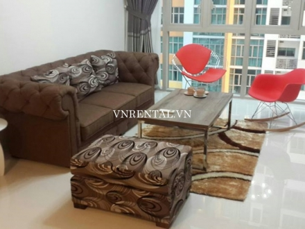 Large apartment for rent in The Vista Building, District 2, Ho Chi Minh city