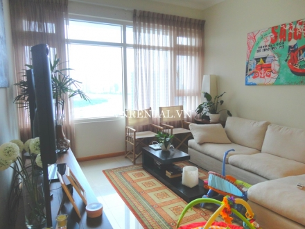 Cozy apartment for rent in Sai Gon Pearl Building, Binh Thanh District, Saigon