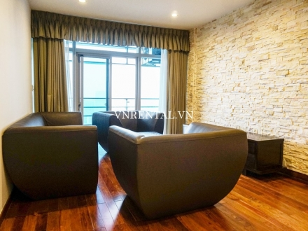 Cosy 3-bedroom apartment for rent in Sailing Tower. District 1, Ho Chi Minh city