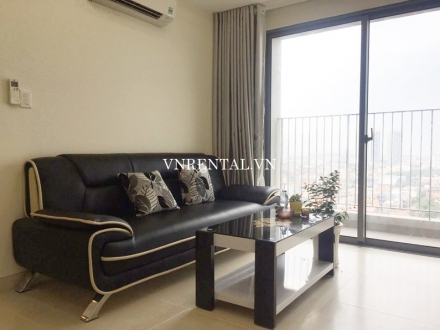 Masteri Thao Dien 2 bedroom apartment for rent in District 2, Ho Chi Minh City